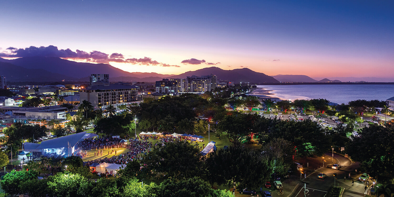 cairns-at-night_credit-tourism-and-events-queensland | Pacific Hotel Cairns