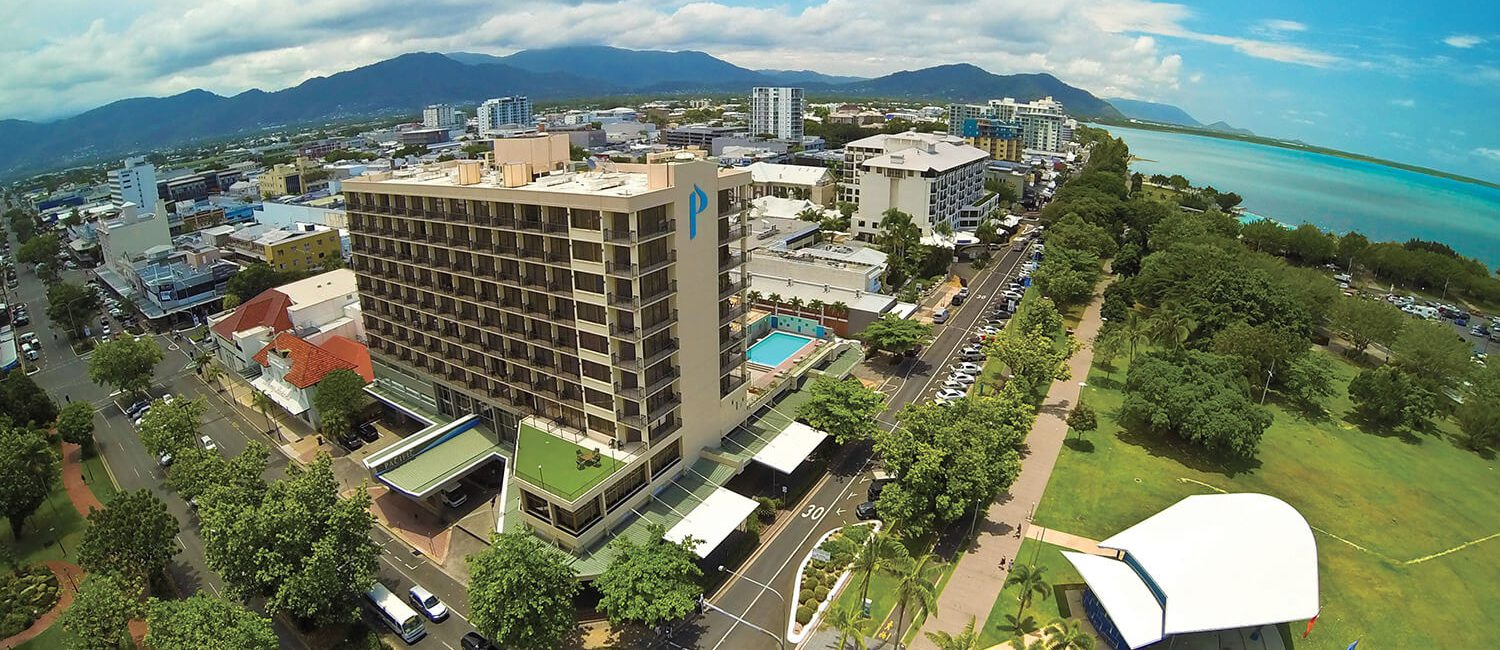 cairns-exterior-aerial | Pacific Hotel Cairns