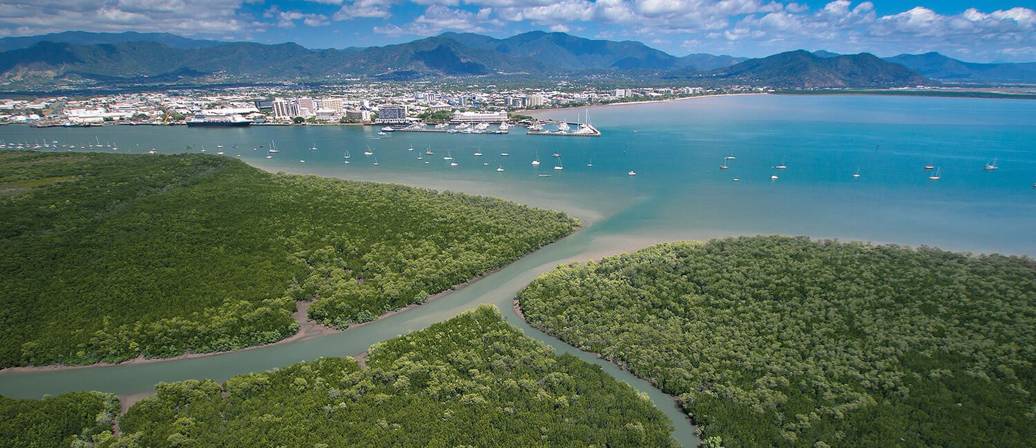 cairns-over-water-credit-Tourism-&-Events-Queensland | Pacific Hotel Cairns