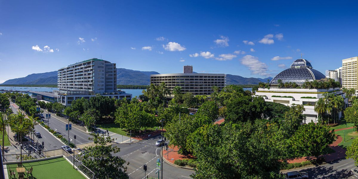 view | Pacific Hotel Cairns